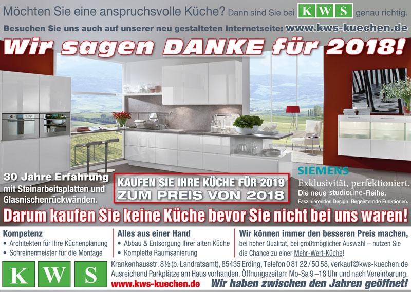 Ihre Küche   Kaufen Sie Ihre Kuche Fur 2019 Zum Preis Von 2018 Kws Der